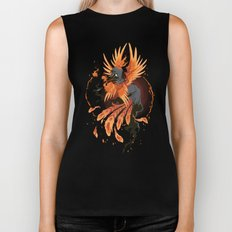 The Avian Arsonist Biker Tank
