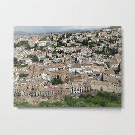 Albaicin Granada Metal Print