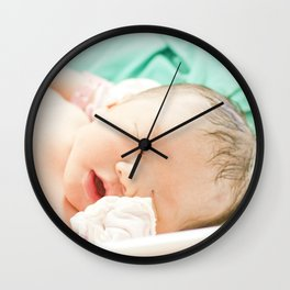 She is my daughter Wall Clock