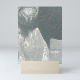 Fluffy Scar Mini Art Print