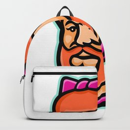 Bearded Lady Mascot Backpack