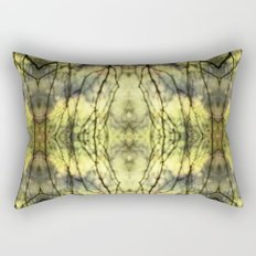 Abstract Yellow Trees Rectangular Pillow