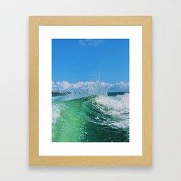 Miami Wave Framed Art Print