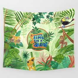 Medilludesign Ecotherapy Jungle Wall Tapestry