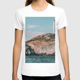 Italy Coast Seashore Lighthouse T-shirt