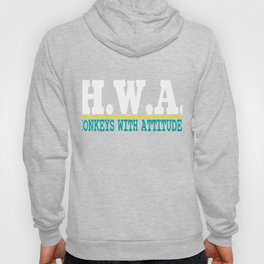 """""""Honkeys With Attitudes"""" tee design. Awesome and fabulous gift to your friends and family!Grab yours Hoody"""