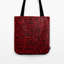 Blood Lace Tote Bag
