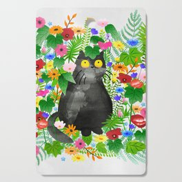 Wild Flowers Cutting Board