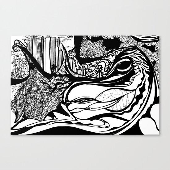Jungle City Canvas Print