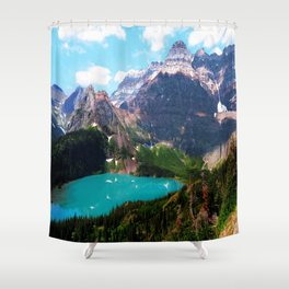 Leaving the magical passage Shower Curtain
