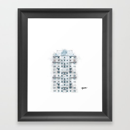 """Nowhere Home"" Framed Art Print"