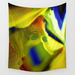 Manifestation in Yellow Wall Tapestry