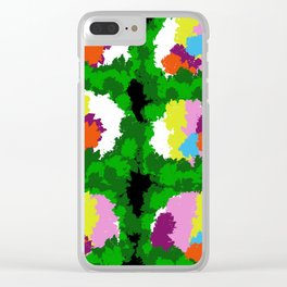 Flowers for Mark Rothko and Cézanne. Clear iPhone Case