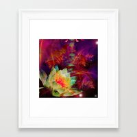 astrology Framed Art Prints featuring Astrology by shiva camille