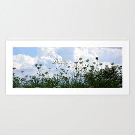 Flower Ridge Art Print