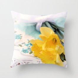 Daffy Dreams... Throw Pillow