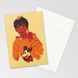 phichit and hamsters Stationery Cards