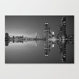 Black and White Rotterdam - The Netherlands Canvas Print
