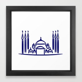 Sultanahmet Mosque Framed Art Print