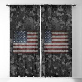 Night Flag Camo Blackout Curtain