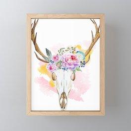 Animal Skull 02 Framed Mini Art Print