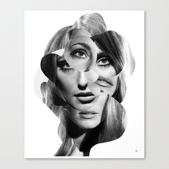 Sharon Mix 7 Canvas Print