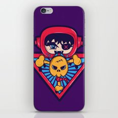 Abstract Death iPhone & iPod Skin
