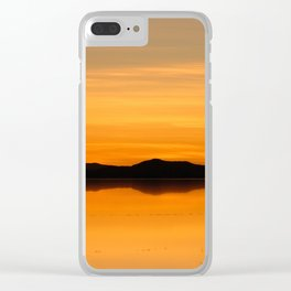 Salar de Uyuni 5 Clear iPhone Case
