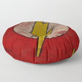 Remember The Flash Floor Pillow
