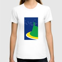 brazil T-shirts featuring BRAZIL by Marcus Wild