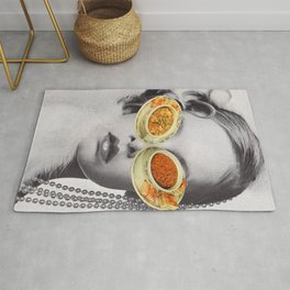 Hungry Eyes - Soup sunglasses Rug