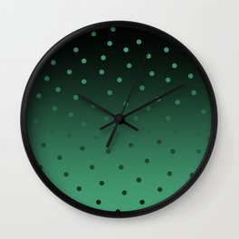 Snowfall  Wall Clock