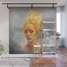 Flame Wall Mural