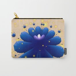 Floral fractal with sparkling pollen Carry-All Pouch