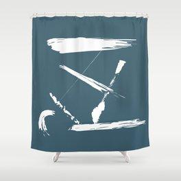 Flotsam and Jetsam Shower Curtain