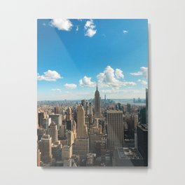 View From The Rock NYC Metal Print