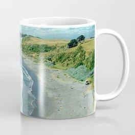 Raglan beach, New Zealand Coffee Mug