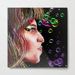 Amy Painting Metal Print