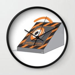 selfdestruction Wall Clock