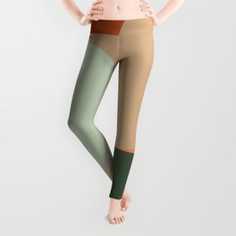 Abstract Geometric 2 #fallwinter #colortrend #decor Leggings