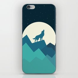 Keep The Wild In You iPhone Skin