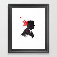 The Assassination of John F. Kennedy Framed Art Print