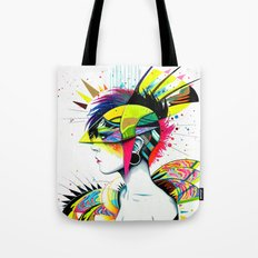 -City Girl- Tote Bag
