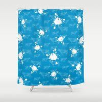 milk Shower Curtains featuring Got Milk? by rob art | simple