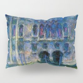 Claude Monet Palazzo da Mula, Venice Pillow Sham