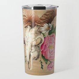 Aries and the Raven Travel Mug