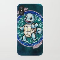 squirtle iPhone & iPod Cases featuring 7 - Squirtle by Lyxy