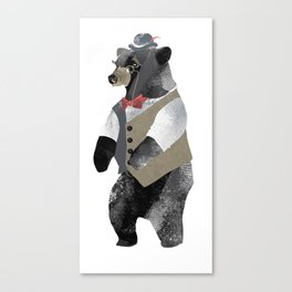 Fancy Bear Canvas Print