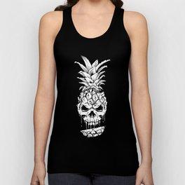 Skull Pineapple Fruit Unisex Tank Top