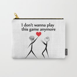 Playing  with love Carry-All Pouch